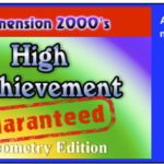 High Achievement Guaranteed – Geometry Edition