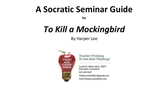 socratic seminar to kill a mockingbird