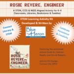 Rosie Revere, Engineer Event Kit