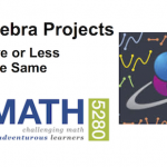 Deep Algebra Projects: More or Less the Same