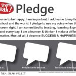 Let Them Speak! Project Printable Classroom Commitment