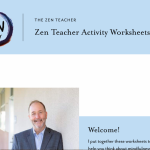 The Zen Teacher Activity Sheets